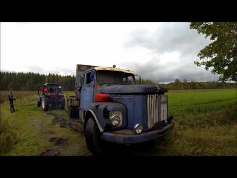 Barn find Scania 110 Super -70