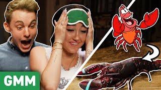 Disney Movie Food Challenge w/ Jon Cozart & Noah Cyrus by : Good Mythical Morning