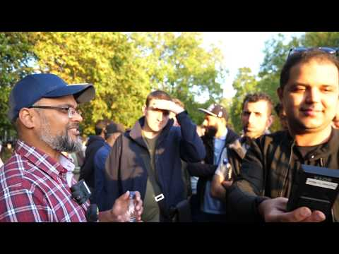 P2 - But Why! Hashim Vs Visitor | Speakers Corner | Hyde Park