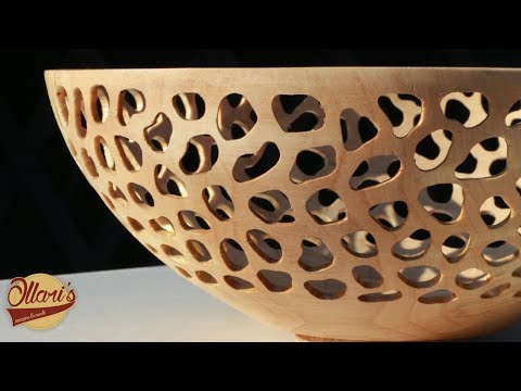 How To Make A Beautiful Bowl From Worthless Log