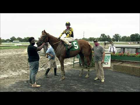 video thumbnail for MONMOUTH PARK 08-29-20 RACE 8