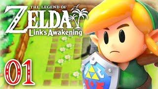 La nouvelle aventure ! | ZELDA LINK'S AWAKENING #01