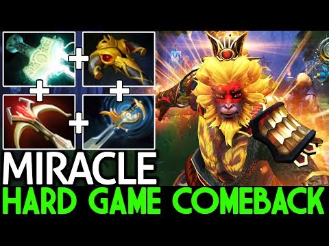 Miracle- [Monkey King] Hard Early Game ComeBack is Real 7.21 Dota 2 thumbnail