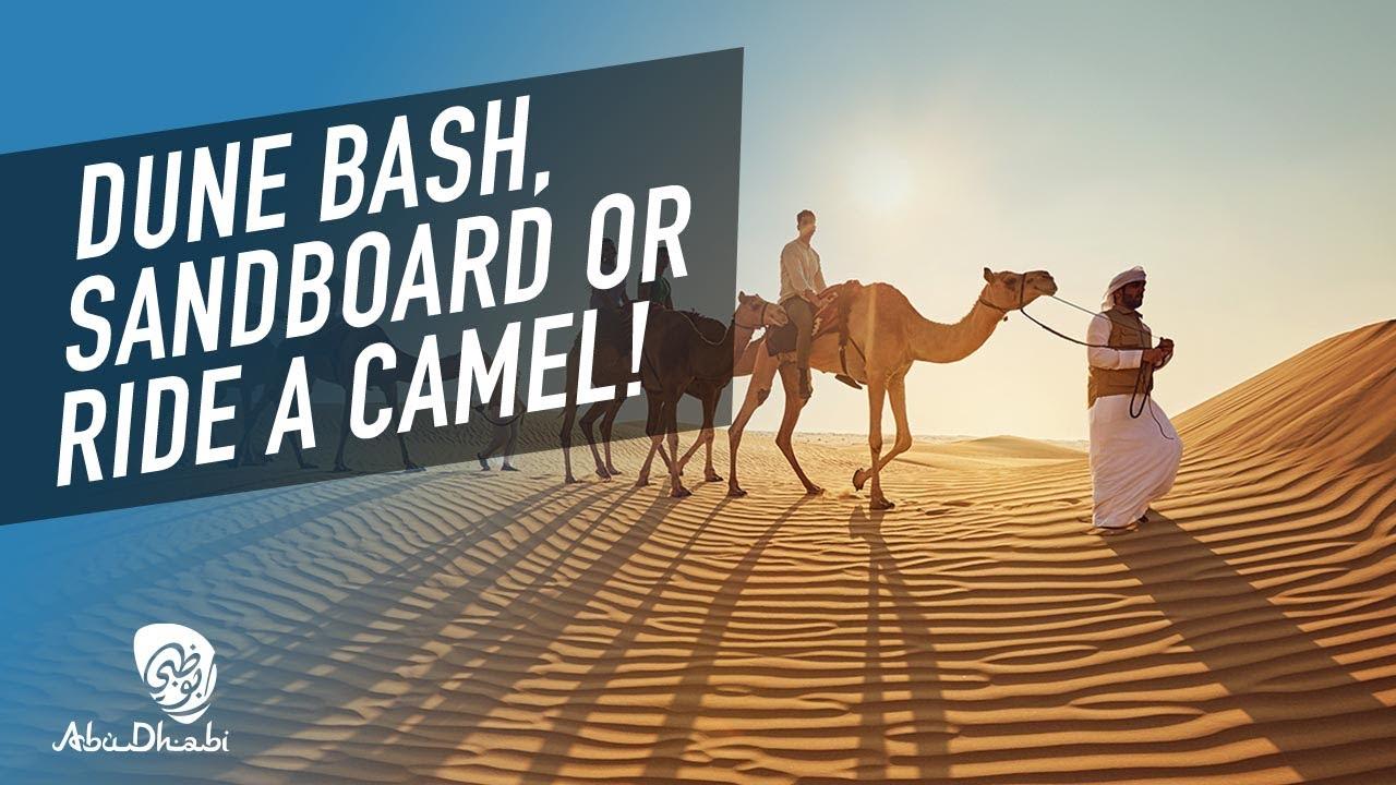 Live the desert dream #InAbuDhabi