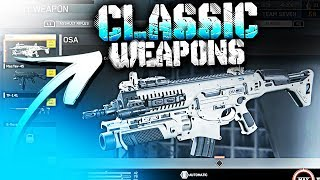 ROAD TO BLACK SKY.. CLASSIC WEAPONS! (Call of Duty: Infinite Warfare)