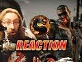 MAX REACTS: Jax Reveal & Fatality Trailer (Mortal Kombat X)