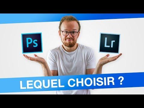 Quelles Différences Entre Photoshop Et Lightroom ?