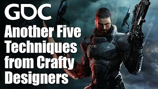 Rules of the Game: Another Five Techniques from Particularly Crafty Designers