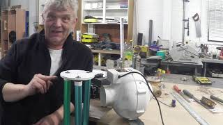 Magnus Effect Wind Generator For Hurricanes - Toner Recycle Project 2