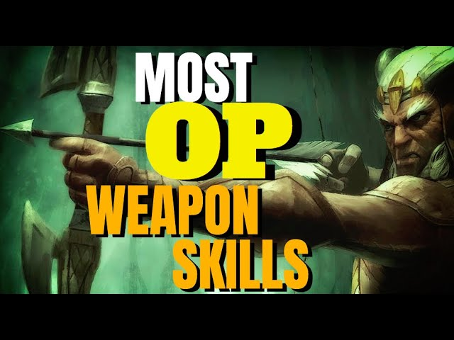 Top 5 OP Weapon Skills in ESO History - ESO Elseweyr Weapon Changes