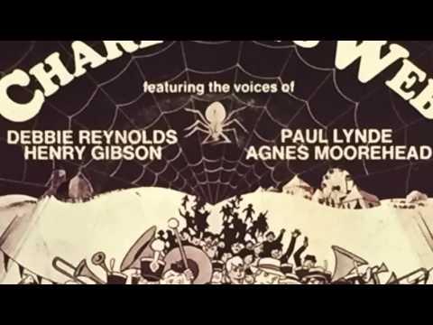 Debbie Reynolds Sings CHARLOTTE'S WEB