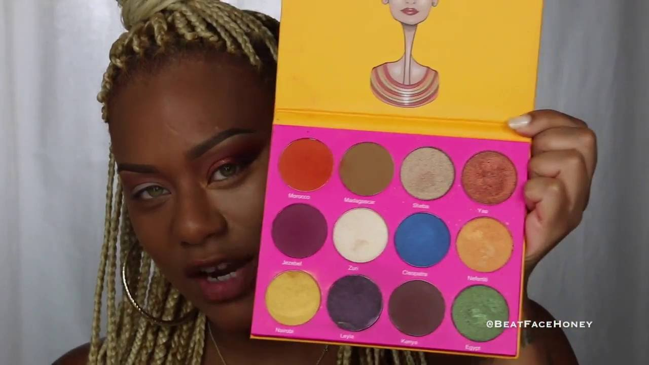 ab4b29264a9 Juvia's Place Nubian 2 Eyeshadow Palette - Vloggest
