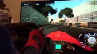 Race Pro Formula Master Macau T500RS F1 Xbox360 CronusMAX