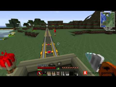 Tekkit Tutorial 56 - High Speed Track and The Launcher