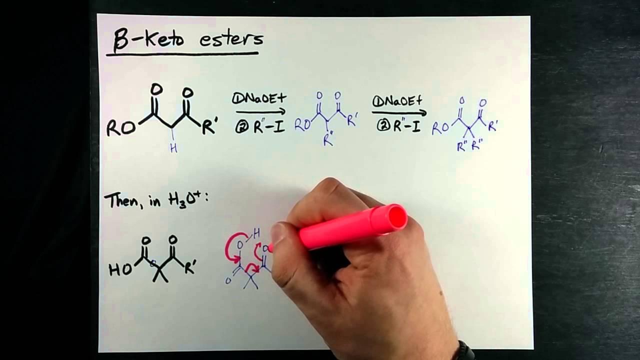 Beta Keto Esters Alkylating Ketones In Naoet Youtube