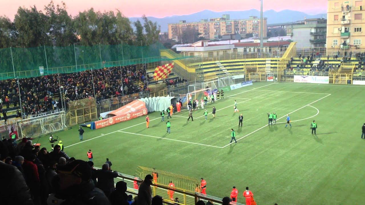 Juve Stabia Benevento 06 01 2015 Esultanza Fine Partita Youtube