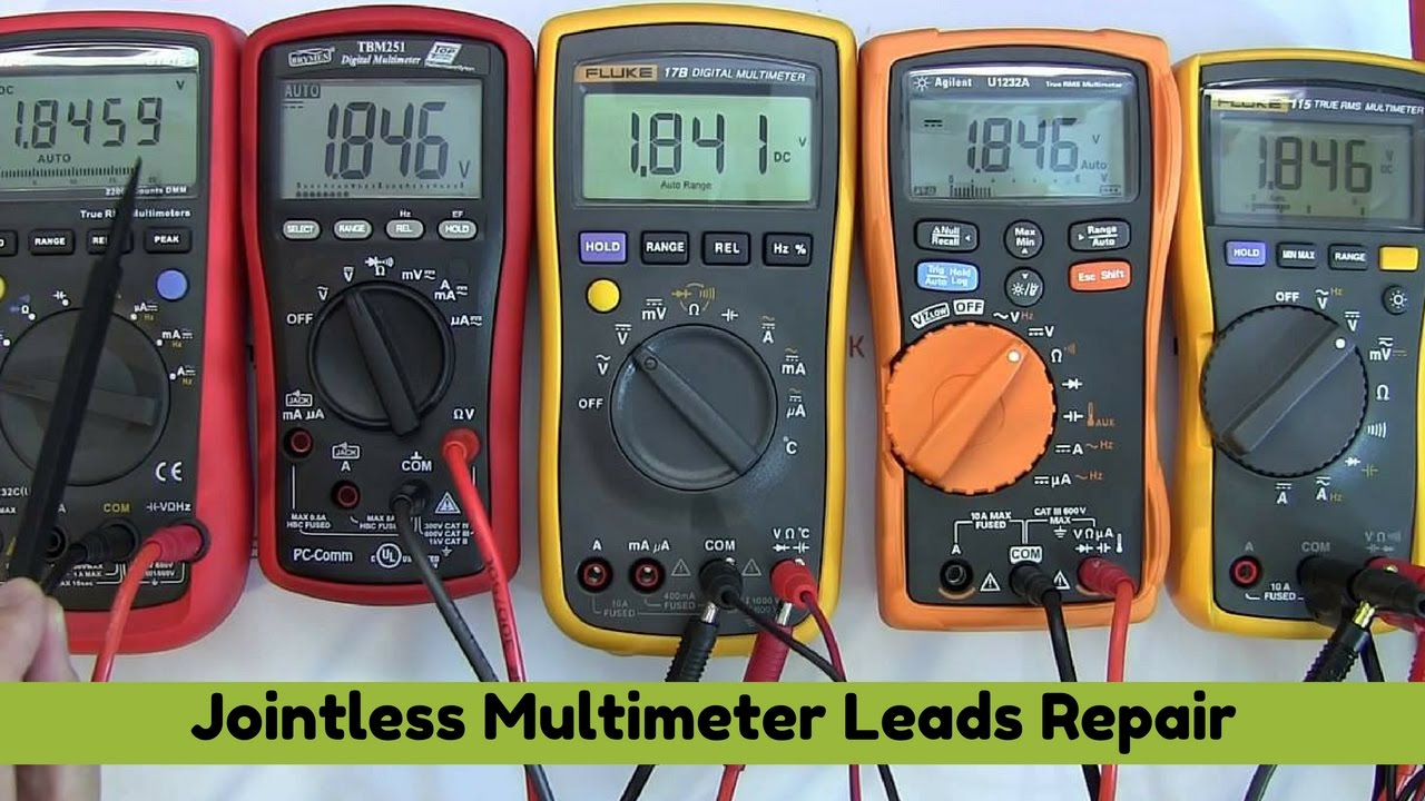Digital Multimeter Leads : Digital multimeter repair multitester