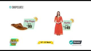 ShopClues Start of Season Sale: 16th 23rd March