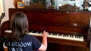 Dissection - No Dreams Breed in Breathless Sleep - Piano Cover by 9 Year Old Kid