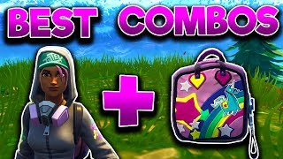 6 BEST SKIN + BACK BLING COMBOS In Fortnite: Battle Royale