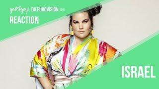 Eurovision Israel 2018 | Netta – 'Toy' Reaction | GastroGays Do Eurovision 2018 #23