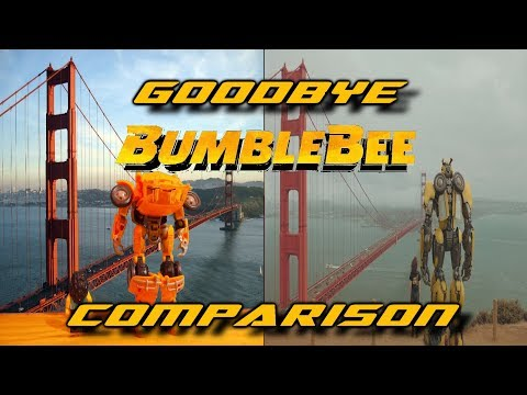 Goodbye Bumblebee STOP MOTION Comparison