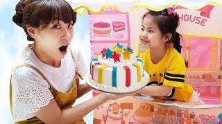 어떤 장난감을 살까요?!! 서은이의 콩순이 케익 하우스 장난감 텐트 뽀로로 드레스 아이스크림 Cake House Tent Toy