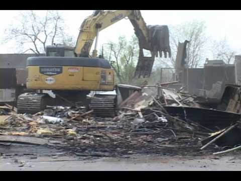 OConnell's in Norman is torn down