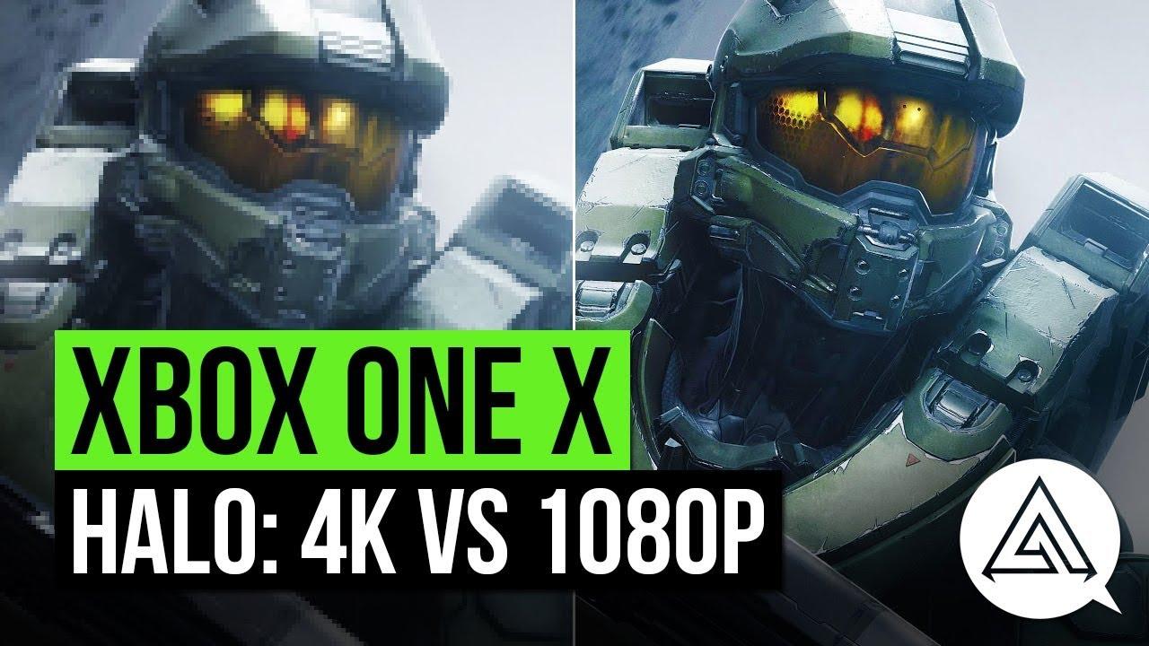 halo 3 5 xbox one x 4k vs 1080p gameplay comparison. Black Bedroom Furniture Sets. Home Design Ideas