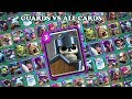 GUARDS VS ALL CARDS IN CLASH ROYALE | GUARDS 1 ON 1 GAMEPLAY