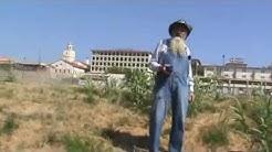 Herbert Cowboy Coward at the Rio Grande River, Laredo, Texas.