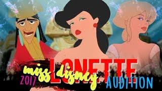 Non/Disney Crossover Contest「Miss Disney 2017」   Lonette Audition ♥