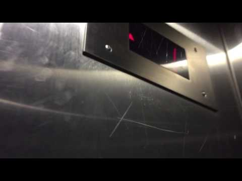 Unknown elevator at Powell Library, UCLA in Los Angles CA
