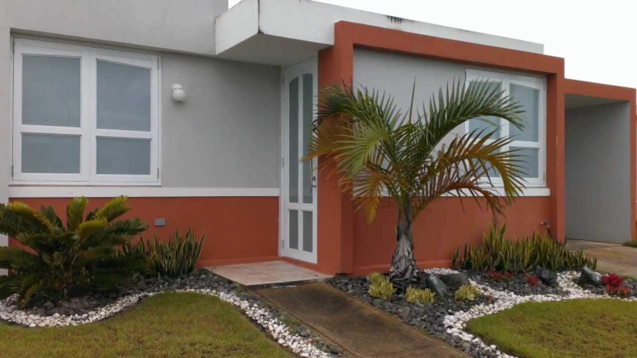 Urbanizaci n senderos de juncos en juncos puerto rico - Jardines pequenos de casas ...