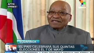 General elections to be held in South Africa on May 7