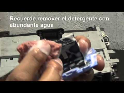 Limpieza de Pick Up Roller de la Impresora HP P1102w