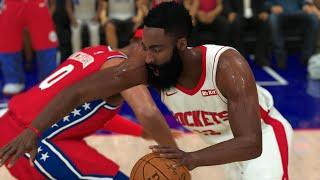 Rockets vs 76ers Full Game Highlights | NBA Today 3/31/2020 | Houston vs Philadelphia (NBA 2K)