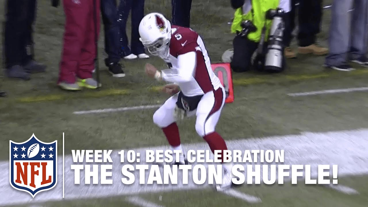 NFL Jerseys Official - Best TD Celebration Dance of the Year Goes to Drew Stanton ...