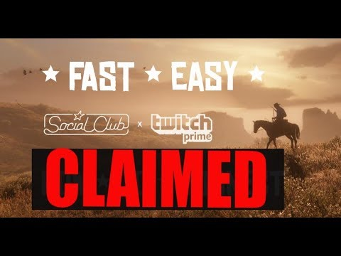 *NEW* HOW TO CLAIM AMAZON PRIME LOOT - RED DEAD REDEMPTION 2 ONLINE GTA 5 ONLINE - EASY AND FAST