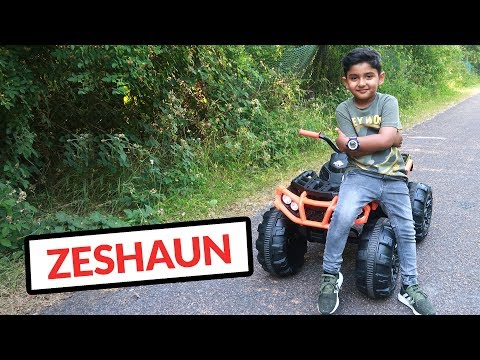 UNBOXING & ASSEMBLING KID TRAX MGX Quad | Zeshaun Official