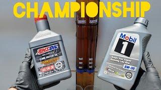 Amsoil vs Mobil 1 motor oil championship!