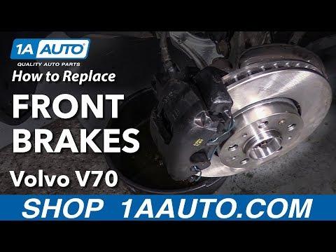 How to Replace Brake Kit 01-07 Volvo V70