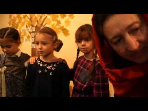 ABC. Thanksgiving Mannequin Challenge at the International School of Tomorrow, Moscow