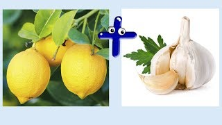 лимон + чеснок чистит сосуды и укрепляет память.