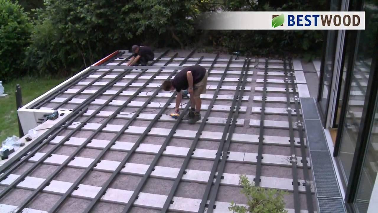 vietschi farben pres erfurt montagevideo des bestwood terrassensystem aus gcc wpc youtube. Black Bedroom Furniture Sets. Home Design Ideas