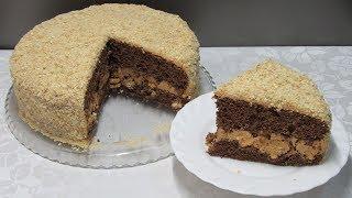 """Домашний торт """"Арлекин"""" - Быстро готовится и мгновенно съедается!!!"""