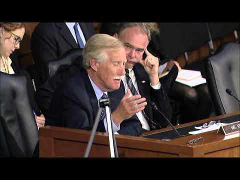 King's Remarks at Armed Services Hearing with Secretary Hagel and General Dempsey