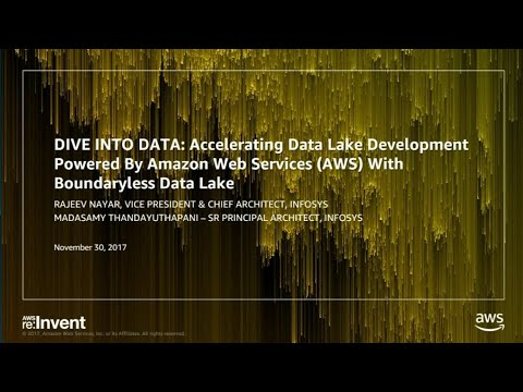 Aws Re Invent 2017 Dive Into Data The