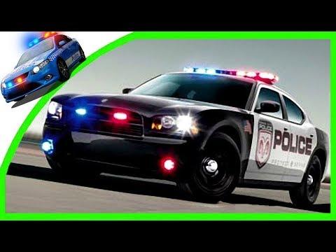 Быстрые машинки - Гонки для мальчиков - Детский мультик - Полицейская машина - Игры гонки - Мультик