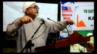 Ceramah Tuan Guru Haji Abdul Hadi Awang di Kg Pasir Putih Tawau part 2